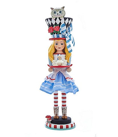 Kurt S. Adler Alice in Wonderland Series Alice Nutcracker
