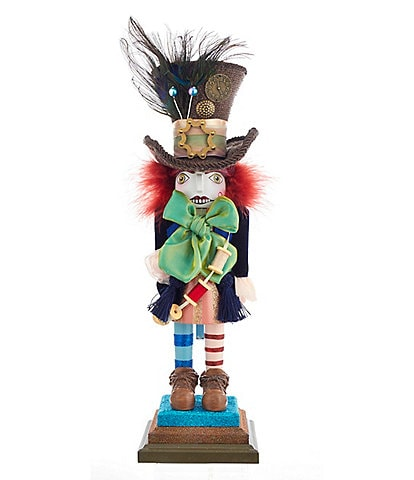 Kurt S. Adler Alice in Wonderland Series Mad Hatter Nutcracker