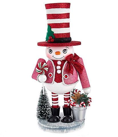Kurt S. Adler Hollywood Collection 12#double; Snowman Candy Nutcracker