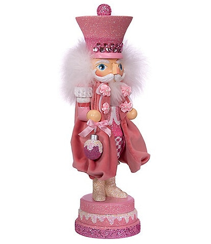 Kurt S. Adler Hollywood Collection 15#double; Pink Sweet Soldier Nutcracker