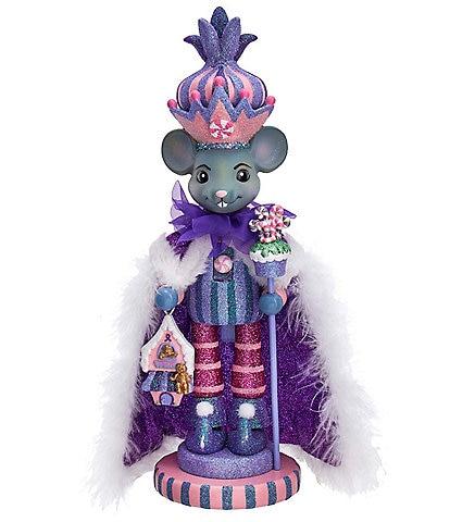 Kurt S. Adler Hollywood Collection 15#double; Sugar Plum Mouse King Nutcracker