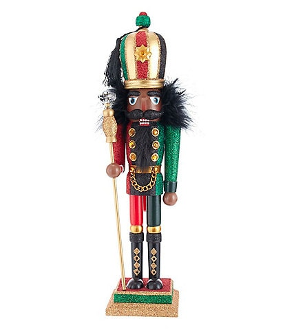 Kurt S. Adler Hollywood Collection African American Solider Nutcracker