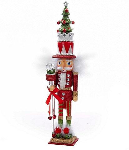 Kurt S. Adler Hollywood Collection Christmas Hat Nutcracker