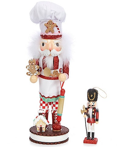 Kurt S. Adler Hollywood Collection Gingerbread Chef Nutcracker