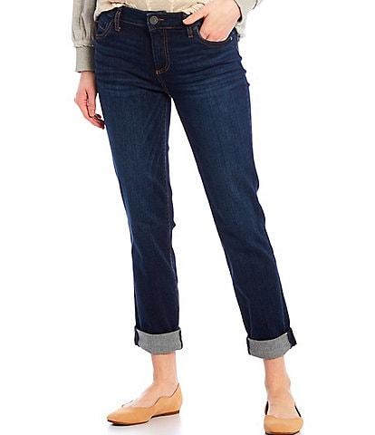 KUT from the Kloth Catherine Roll-Up Cuff Boyfriend Jeans