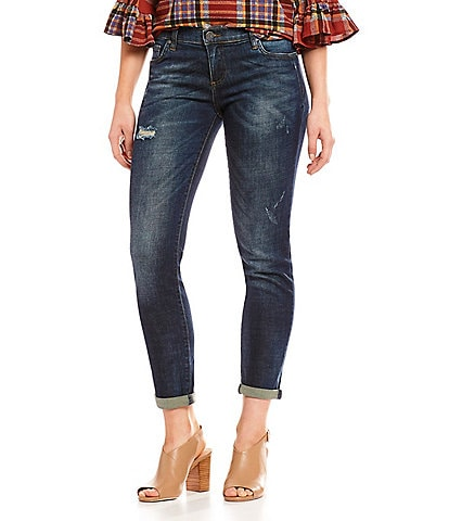 KUT from the Kloth Catherine Slouchy Distressed Boyfriend Jeans