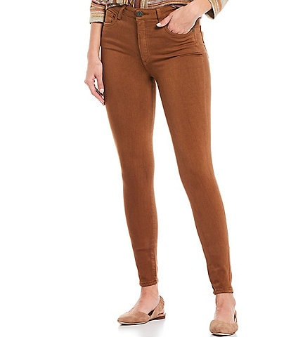 KUT from the Kloth Mia High Rise Fab Ab Fit Technique Toothpick Skinny Jeans