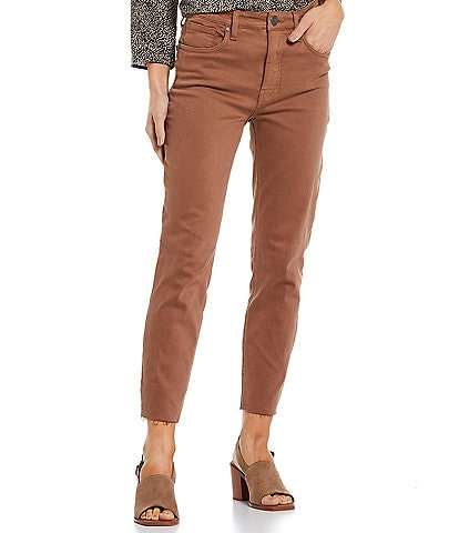KUT from the Kloth Rachael Fab Ab Fit Technique High Rise Straight Leg Ankle Mom Jeans