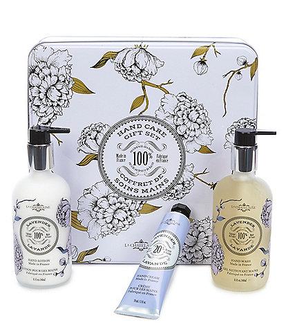 La Chatelaine Lavender Hand Care Gift Set