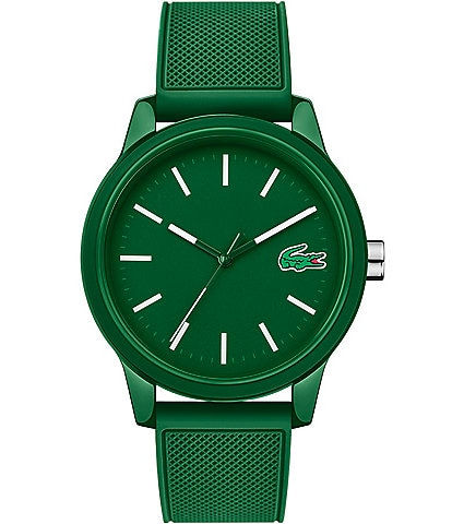 Lacoste 12.12 Green Silicone Strap Watch