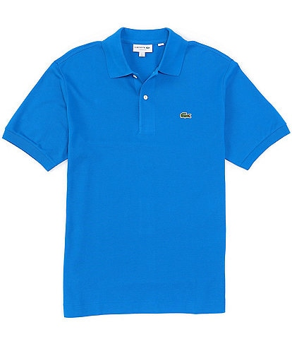 Lacoste Big & Tall Solid Pique Short-Sleeve Polo Shirt