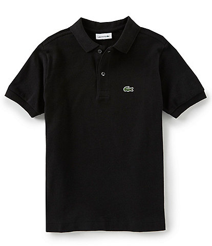 599080a13ee5 Lacoste Big Boys 8-16 Pique Polo Short Sleeve Shirt