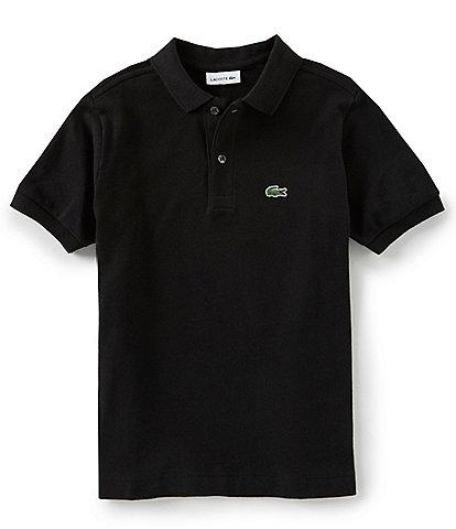 484d86dcf Lacoste Big Boys 8-16 Pique Polo Short Sleeve Shirt