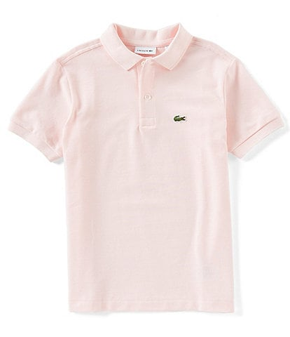 Lacoste Big Boys 8-16 Pique Polo Short Sleeve Shirt