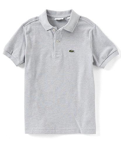 Lacoste Big Boys 8-16 Pique Polo Short Sleeve Shirt