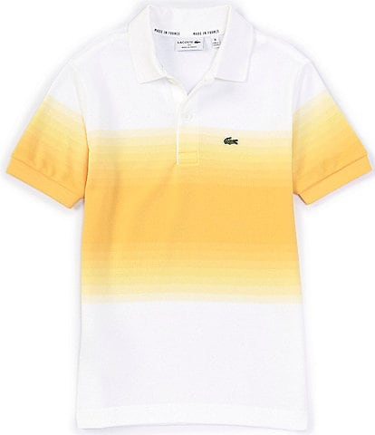 Lacoste Big Boys 8-16 Short-Sleeve Ombre Pique Polo Shirt