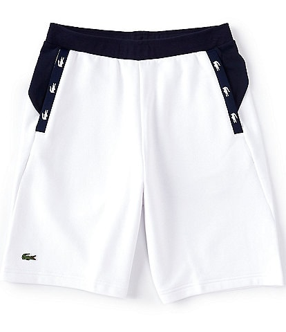 Lacoste Color Block Taped 7#double; Inseam Shorts
