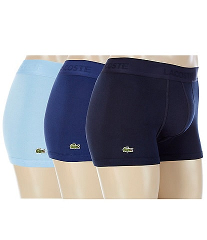 Lacoste Cotton Trunks 3-Pack