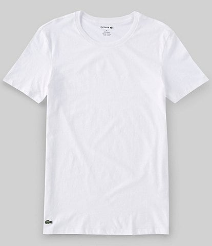 Lacoste Crew Neck Regular Fit Essential T-Shirts 3-Pack