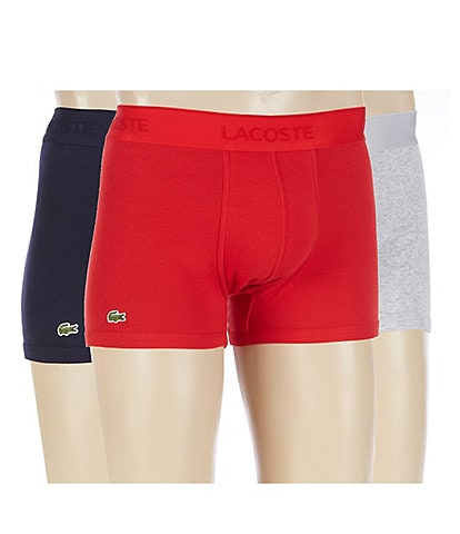 Lacoste Essential Lifestyle Assorted Trunks 3-Pack