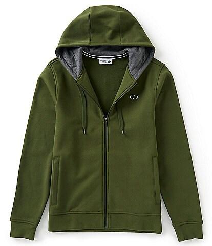 Lacoste Fleece Full-Zip Hoodie