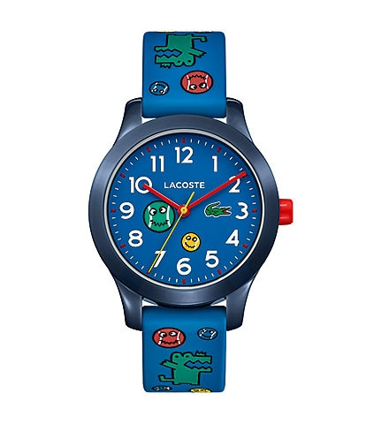 Lacoste Kids 12.12 Blue Silicone Band Logo Watch