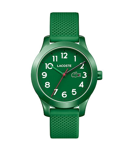 Lacoste Kid's Green Silicone 12.12 Watch