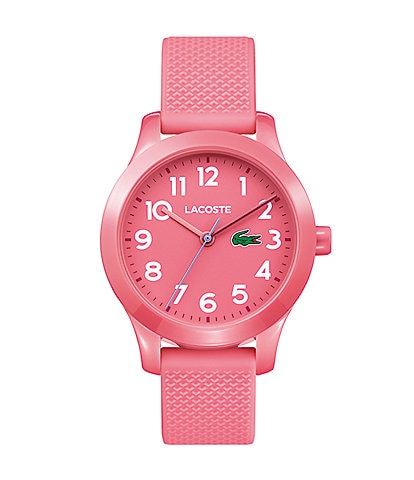 Lacoste Kid's Pink Silicone 12.12 Watch