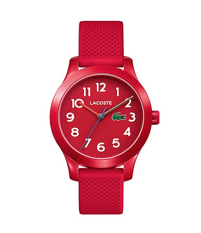 Lacoste Kid's Red Silicone 12.12 Watch