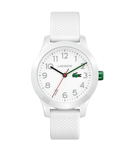 Lacoste Kid's White Silicone 12.12 Watch