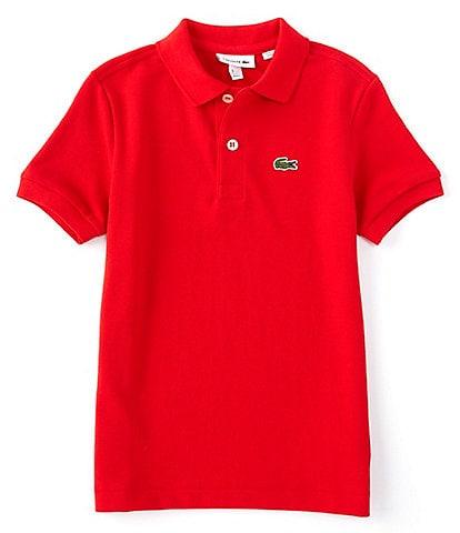 Lacoste Little Boys 2T-6T Pique Polo Short Sleeve Shirt