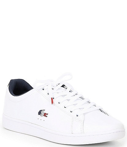 Lacoste Men's Carnaby EVO TRI1 Leather Sneakers