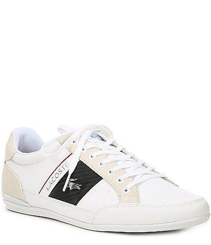 Lacoste Men's Chaymon Leather Lace-Up Sneakers
