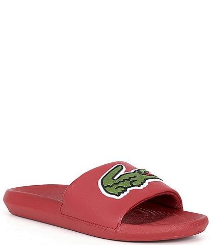 Lacoste Men's Croco Slides