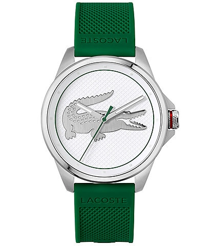 Lacoste Men's Le Croc Silicone Strap Watch
