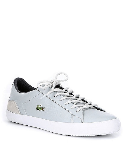 Lacoste Men's Lerond Lace-up Leather Sneaker