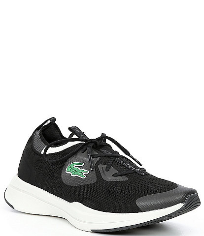 Lacoste Men's Run Spin Knit Lace-Up Sneakers
