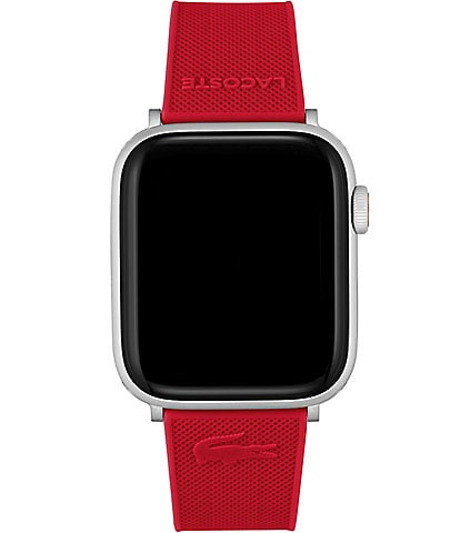 Lacoste Pink Silicone 42/44mm Apple Strap for Apple Watch®