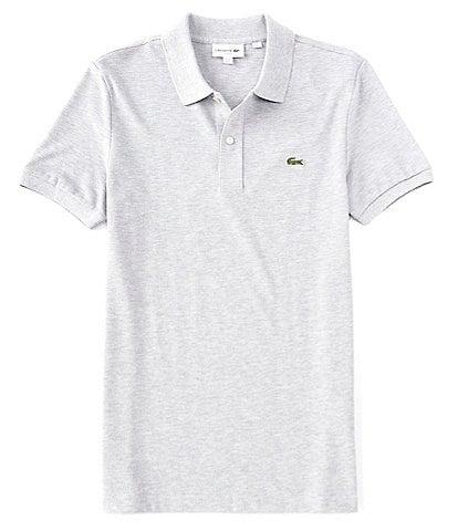 Lacoste Slim-Fit Pique Short-Sleeve Polo Shirt