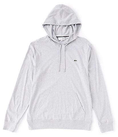 Lacoste Solid Long-Sleeve Hoodie