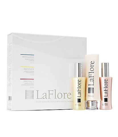 Laflore Probiotic Three-Step Skincare Set
