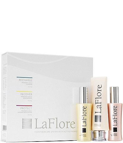 LaFlore Probiotic Three-Step Skincare Set
