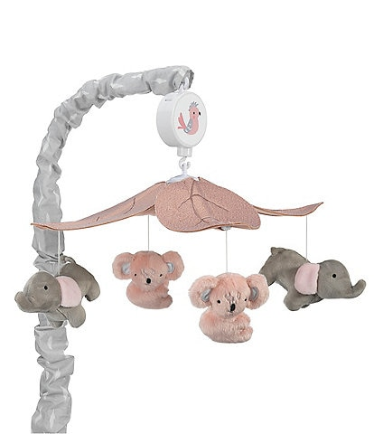 Lambs & Ivy Calypso Jungle Musical Baby Crib Mobile
