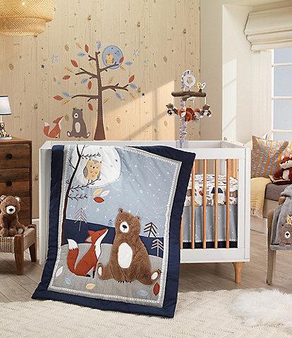 Lambs & Ivy Sierra Sky 3-Piece Baby Crib Bedding Set