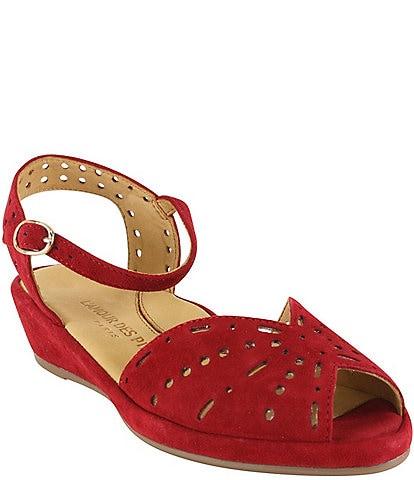L'Amour Des Pieds Brenn Suede Sandals