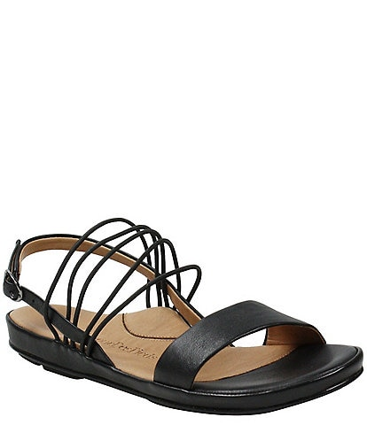 L'amour Des Pieds Demming Strappy Leather Sandals