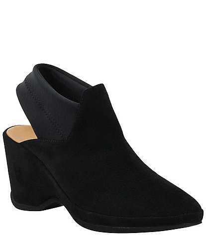 L'Amour Des Pieds Oniella Suede Sling Wedges