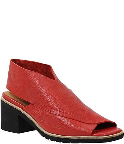 L'Amour Des Pieds Qiana Sling Block Heel Sandals