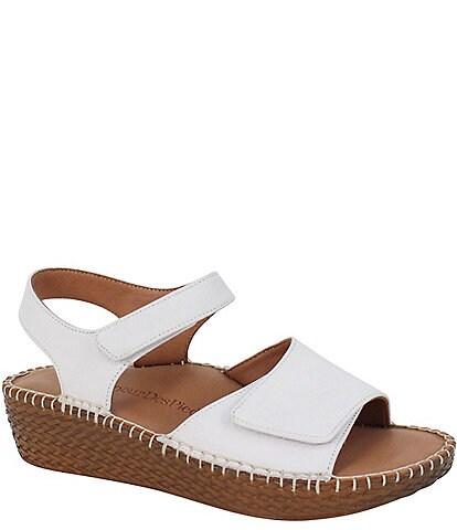 L'Amour Des Pieds Yahya Leather Espadrille Sandals