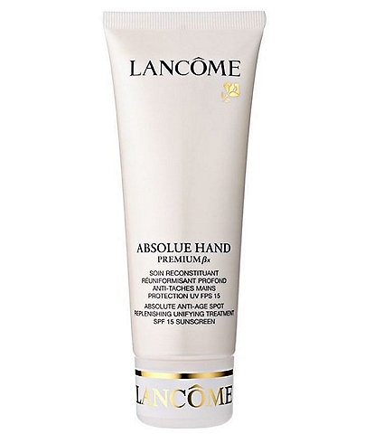 Lancome Absolue Hand Absolute Anti-Age Spot Replenishing Unifying Treatment SPF 15 Sunscreen